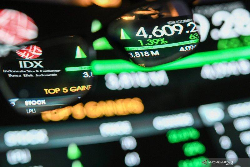 IHSG Rabu dibuka menguat 42,47 poin ke posisi 4.889,98