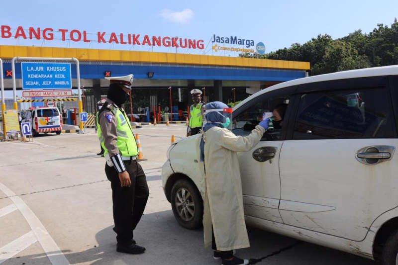 10.000 polisi dikerahkan untuk sekat pemudik di perbatasan Jateng