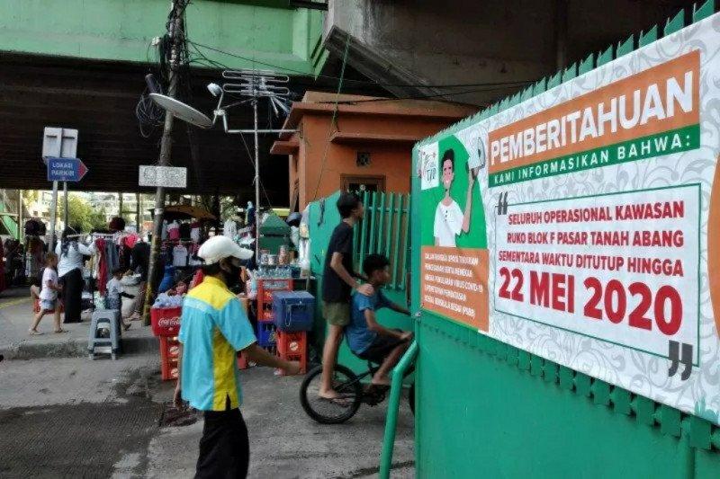 Hoaks, video Tanah Abang dipadati saat PSBB