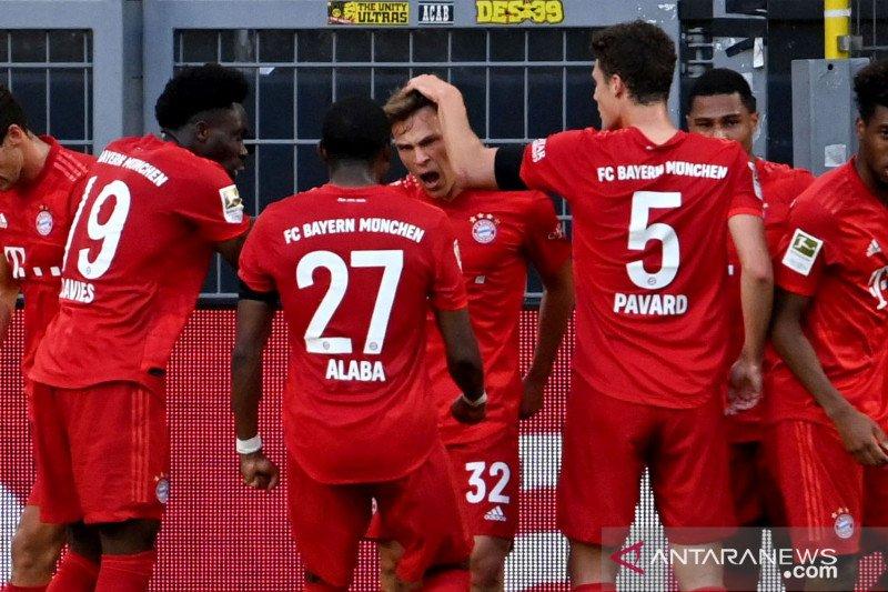 Gol cantik Kimmich mengamankan kemenangan tipis Bayern atas Dortmund