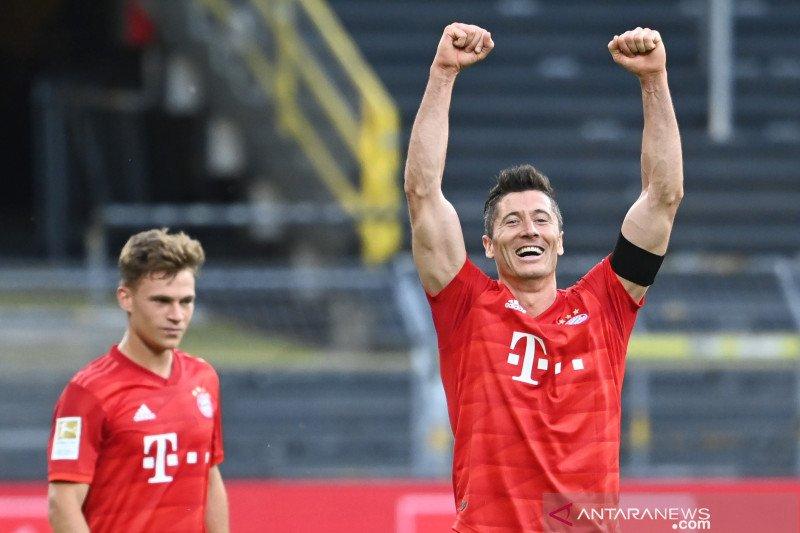 Bayern Munich makin kokoh di puncak klasemen Liga Jerman