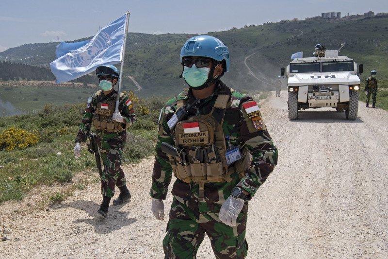 Satu prajurit Indonesia gugur saat tugas akan diberi penghargaan PBB