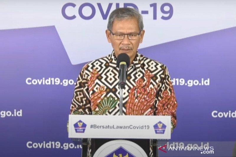 Update COVID-19 di Indonesia:  6.057  sembuh,  23.851 positif  dan 1.473  meninggal