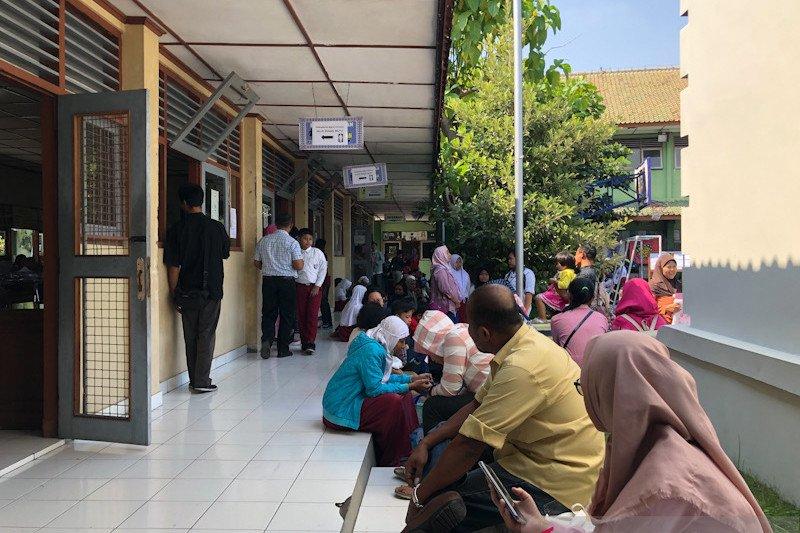 PPDB Kelas Khusus Olahraga SMP 13 Yogyakarta terapkan protokol kesehatan