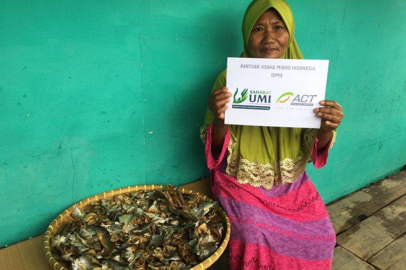 ACT Lampung gulirkan program sahabat UMI dengan memberikan bantuan modal kepada pengusaha