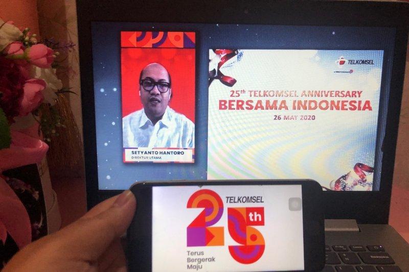 Telkomsel sudah layani 170 juta pelanggan dan jangkau 95 persen Indonesia