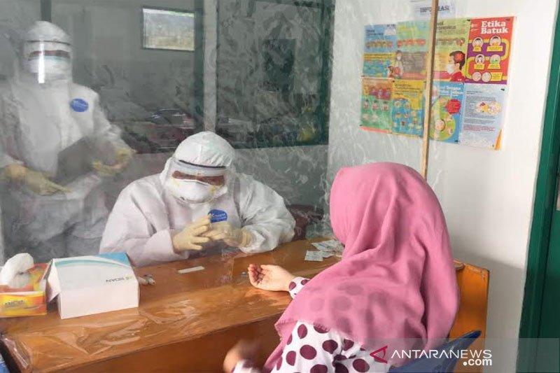Rapid test kontak erat pasien positif Barito Utara hasilnya non reaktif