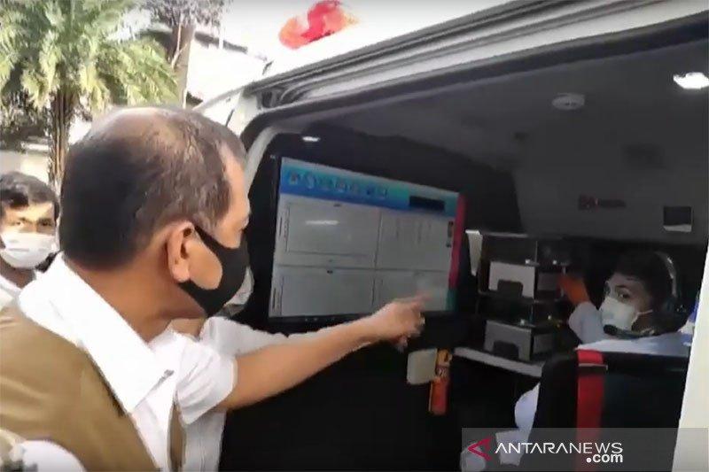 Mobil laboratorium COVID-19 tiba di Surabaya