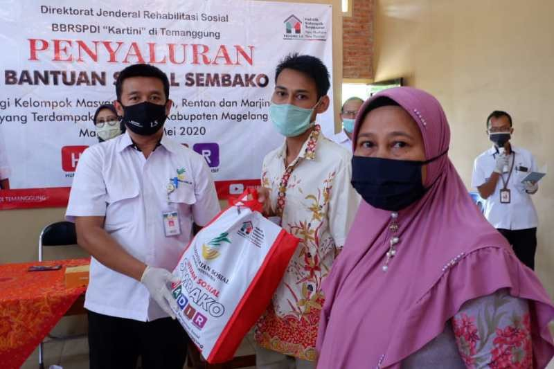 Pemkab Magelang apresiasi bantuan sosial dari BBRSPDI Kartini Temanggung