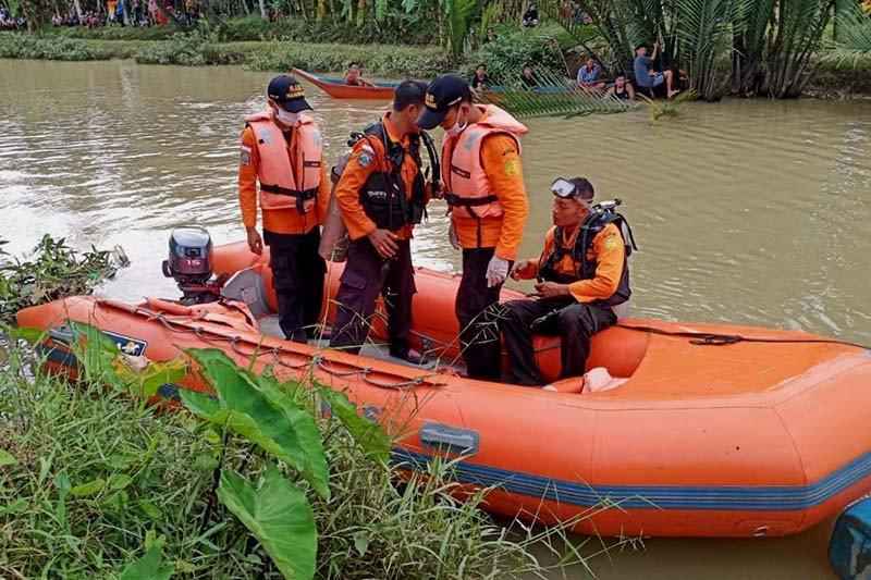 Seorang warga hilang di Sungai Kalisabuk Cilacap
