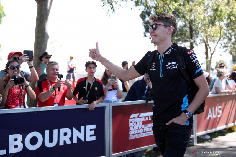 Raih kemenangan beruntun di dunia balap virtual, begini reputasi Russell di dunia nyata