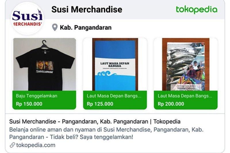 """Susi Pudjiasuti jualan kaos bertuliskan """"Tenggelamkan"""" untuk bantu masyarakat terdampak COVID-19"""