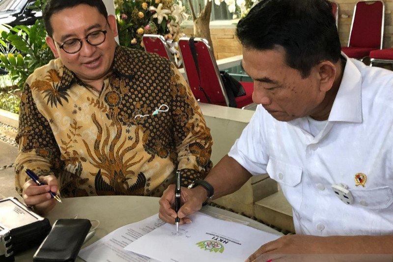 Moeldoko dan Fadli Zon bersepakat akhiri dualisme kepengurusan HKTI