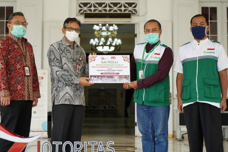 Pegawai OJK Jateng dan DIY potong gaji bantu warga terdampak COVID-19