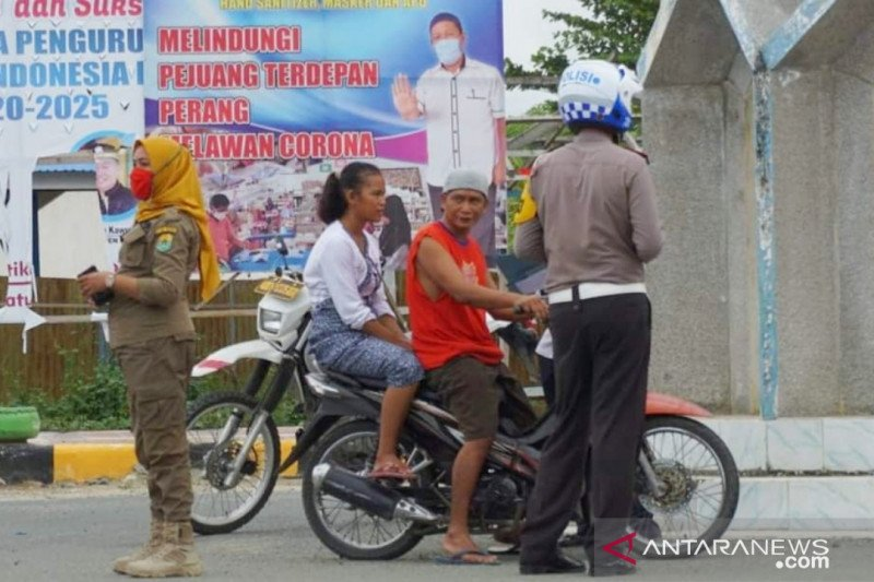 Langgar PSBB, 37 ASN di Buol dijatuhi hukuman disiplin