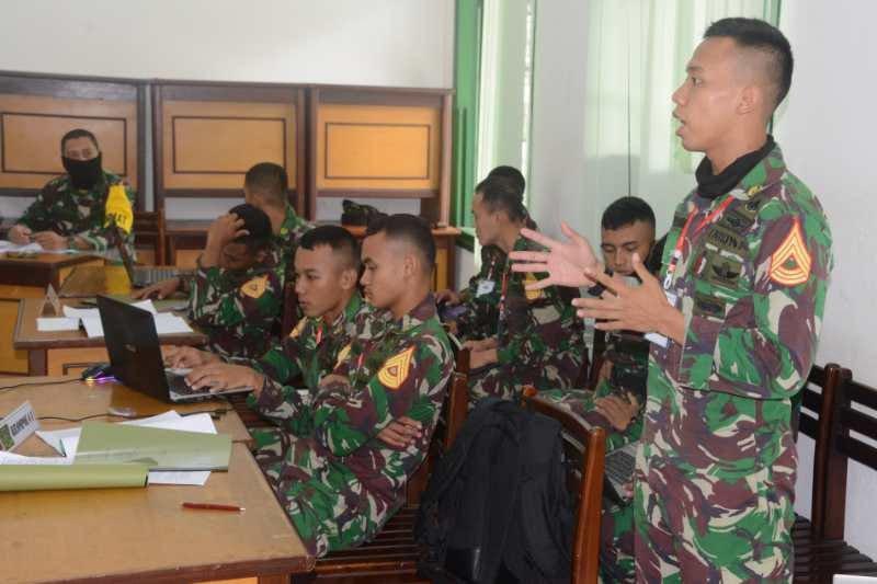 254 taruna Akmil praktik aplikasi kepemimpinan