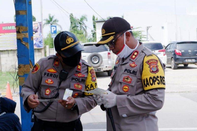 Kapolres Lampung Selatan ingatkan warga akan ke Jakarta wajib miliki SIKM