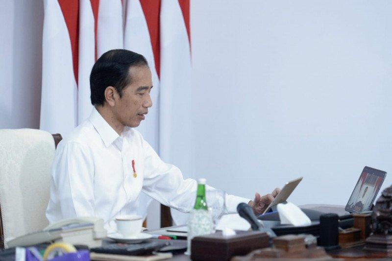 Presiden Jokowi minta konsep berbagi beban diterapkan selama pandemi