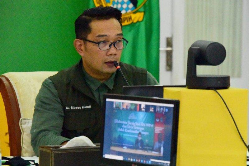 Ridwan Kamil minta KPU Jabar inovatif di tengah wabah COVID-19