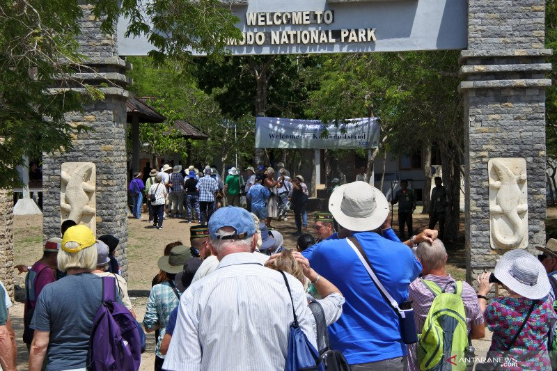 Taman Nasional Komodo masih tertutup bagi wisatawan