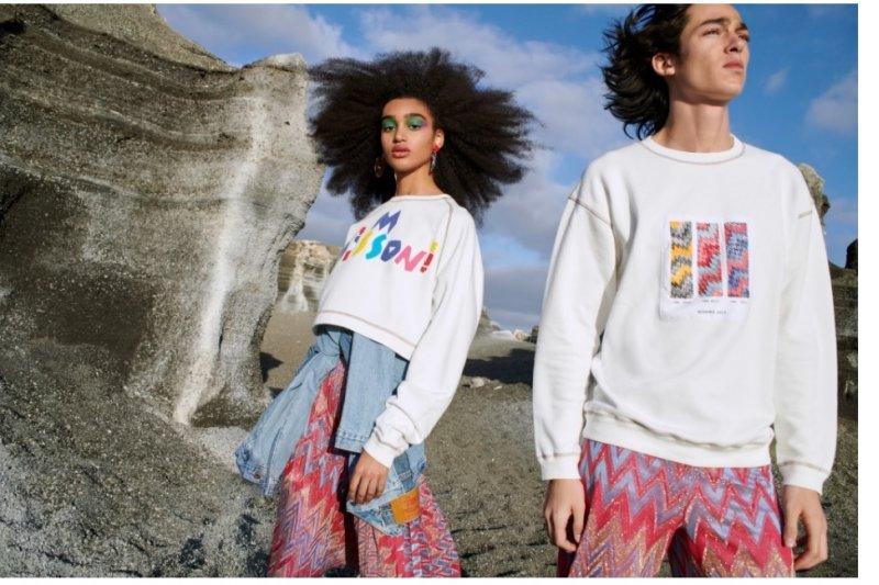 M Missoni dan Yoox meluncurkan kolaborasi fesyen berkelanjutan