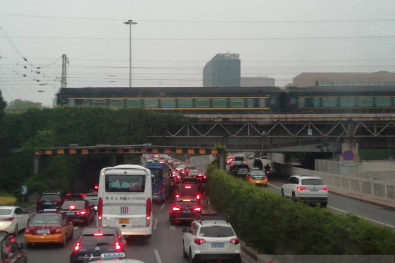 Pembatasan kendaraan bermotor di Beijing kembali diberlakukan pada 1 Juni