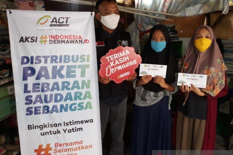 ACT  salurkan bantuan dermawan kepada anak penyintas bencana Sigi