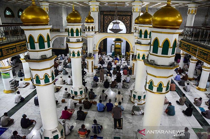 Terapkan protokol kesehatan, Masjid di Pekanbaru kembali dibuka