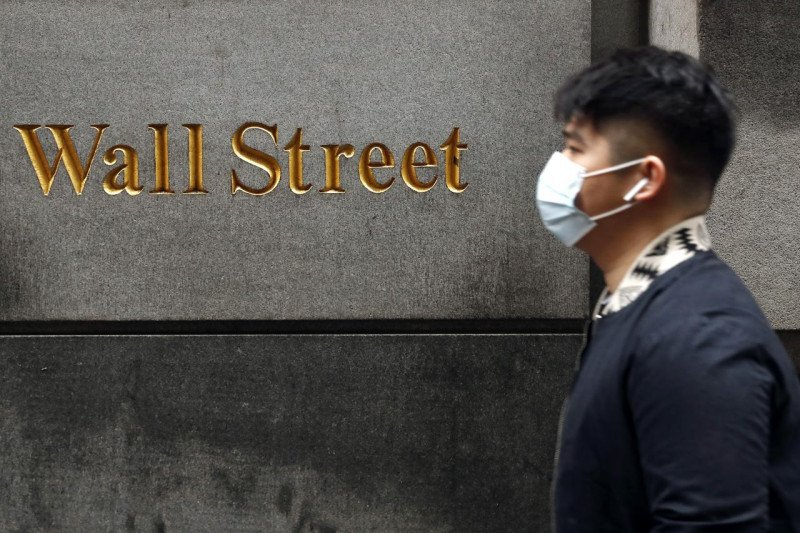 Wall Street dibuka bervariasi sikapi  data ekonomi AS