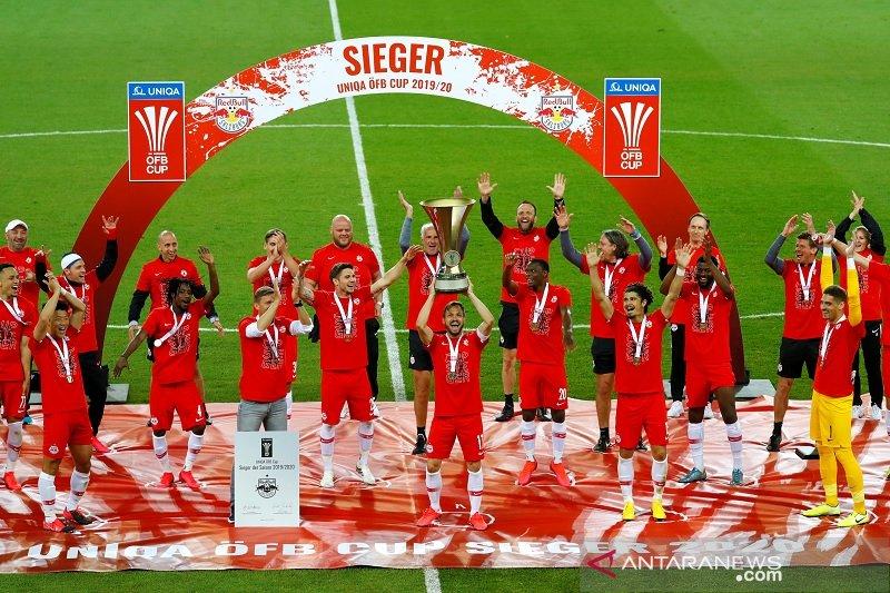 Salzburg juara Piala Austria musim 2019/20