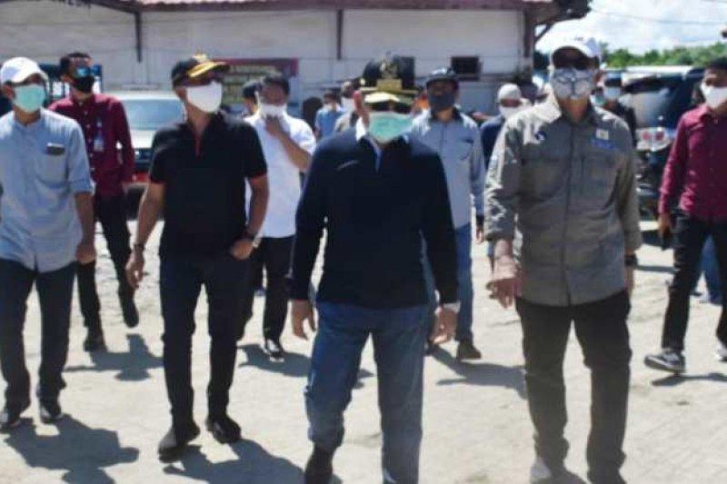 Gubernur Sulbar harapkan TPI Mamuju jadi kawasan peduli COVID-19