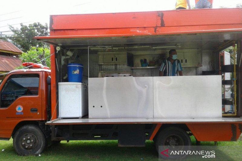 Baubau mulai operasikan kendaraan jadi dapur umum lapangan