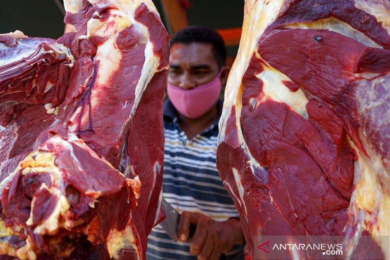 Penjualan daging sapi di Gorontalo menurun jelang lebaran ketupat