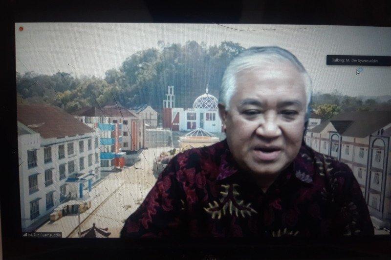 Din Syamsuddin: Kenormalan baru koreksi berbagai sistem dunia pascapandemi corona