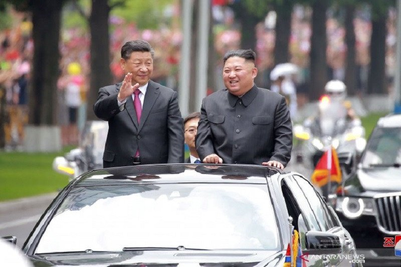 Total Dagang China Korea Utara Turun 80 Persen Saat Pandemi Covid 19 Antara News