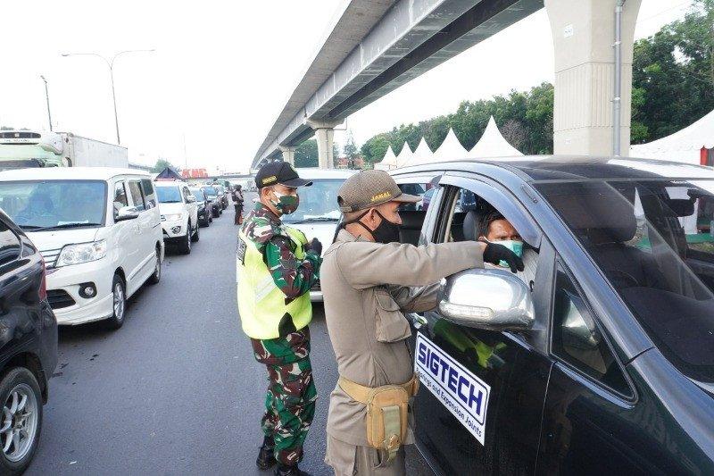 Jasa Marga catat 4.599 kendaraan menuju Jakarta diputarbalik di Cikampek