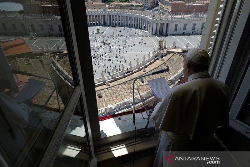 Paus desak rekonsiliasi di AS, kecam rasisme dan kekerasan