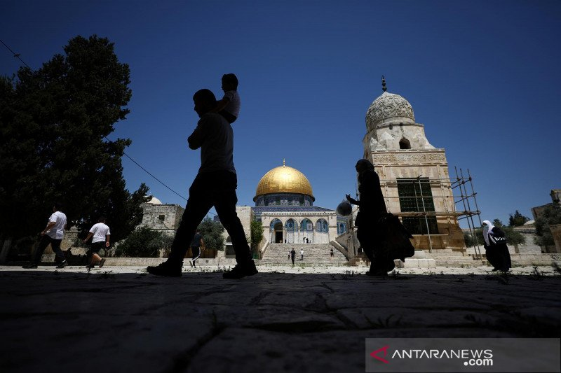 Israel tahan warga Palestina di Yerusalem Timur
