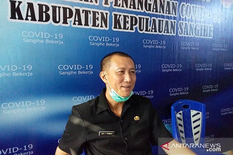 Satu pasien COVID  di Sangihe dinyatakan sembuh