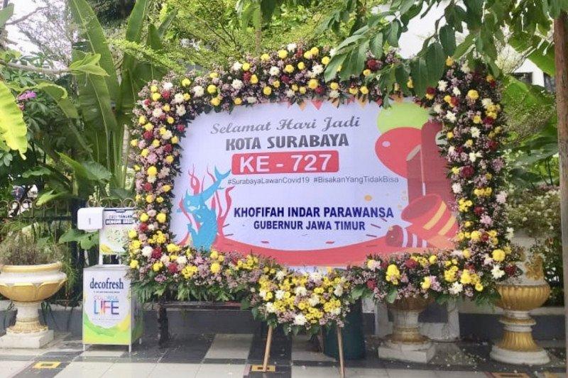 Gubernur Khofifah: Selamat Hari Jadi Ke-727 Kota Surabaya