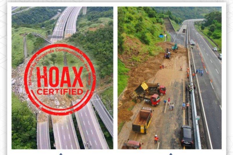 Ingat! foto longsor Tol Semarang-Solo di medsos itu hoaks