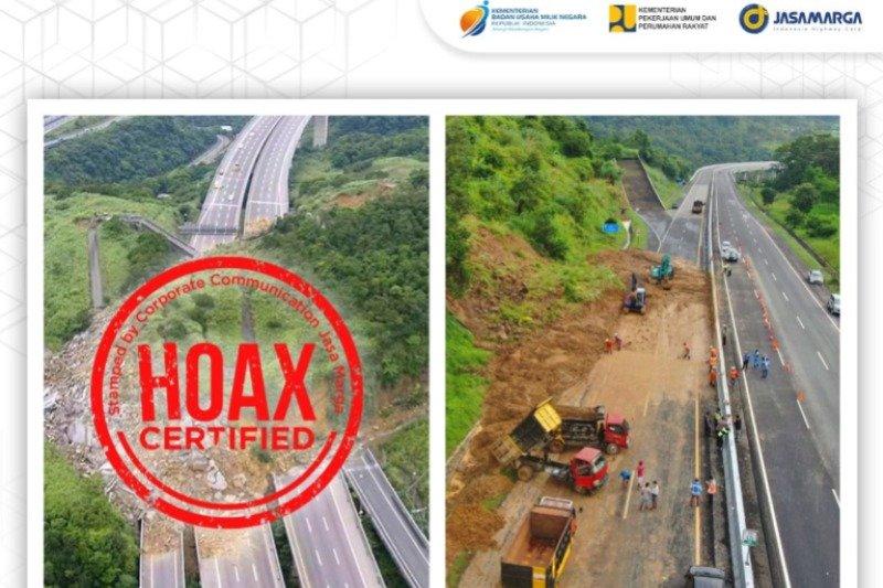 Foto longsor Tol Semarang-Solo di medsos hoaks
