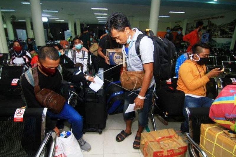 Pemulangan 130 PMI Deportasi