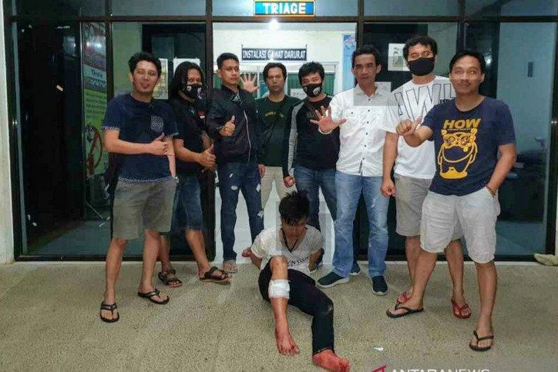 Berupaya kabur saat pencarian barang bukti, polisi terpaksa dor penjambret