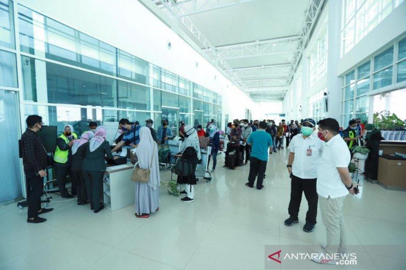 S Kalimantan DPRD Deputy Speaker monitors Sjamsudin Noor Airport in facing new normal