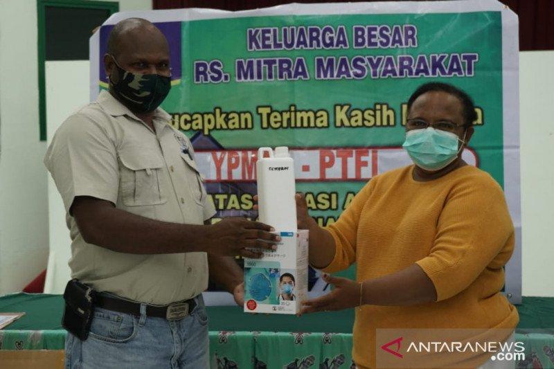RSMM Timika berikan pelayanan warga tujuh suku untuk cegah pandemi COVID-19