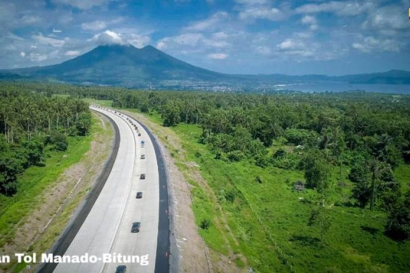 President believes Manado-Bitung toll road will attract investment