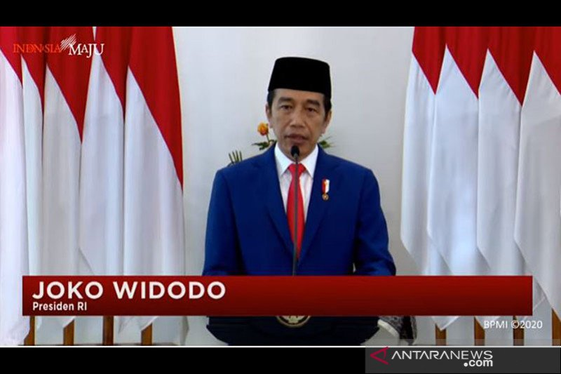 Presiden Jokowi: Pancasila tetap jadi bintang penjuru saat bangsa diuji