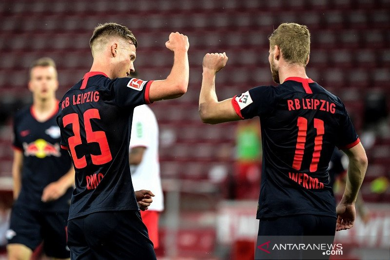Leipzig amankan posisi ketiga klasemen usai tundukkan Cologne