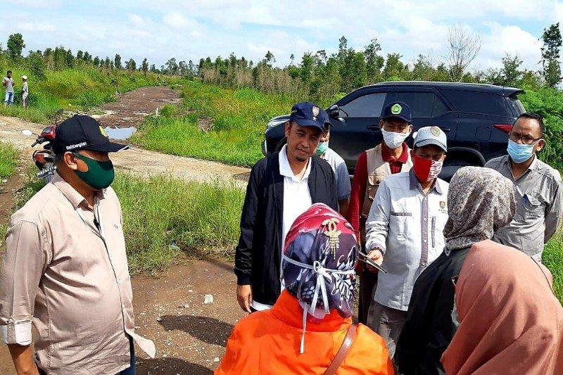 Berikut kegiatan yang dilakukan di Kalteng, terkait proyeksi lumbung pangan nasional